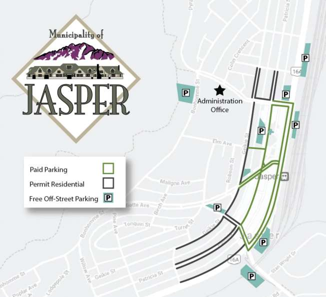 areas of downtown Jasper